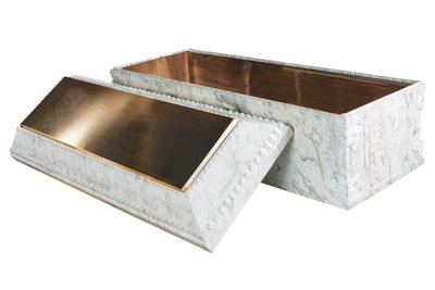 Elite-White Marble-Bronze