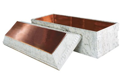 Elite-White Marble-Copper